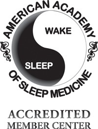 American Academy of Sleep Medicine Accredited Member Badge